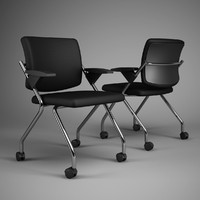 3d model office chair 64