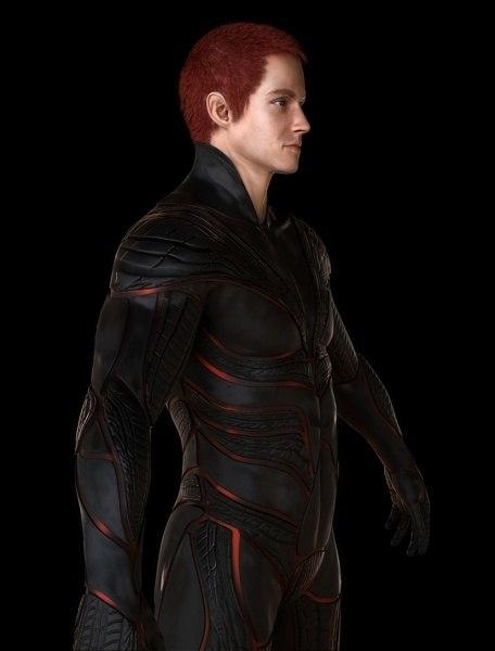 3d character man human model