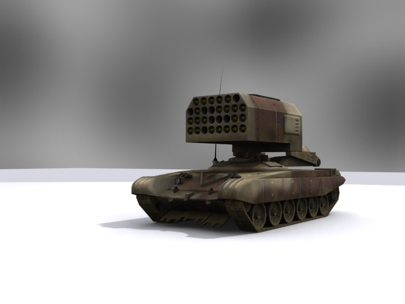 kamchatka buratino 3d model