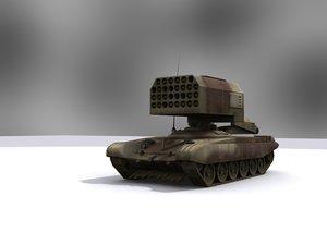 kamchatka buratino 3d model