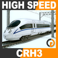 High Speed Train - CRH3 CRH3C Siemens Velaro with Interior