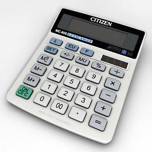 3d citizen calculator