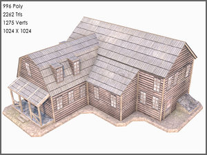 3d colonial compound house games