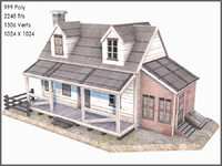 3d colonial plank house games