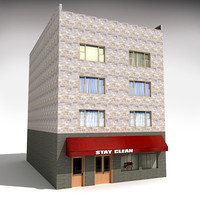 3d downtown building 9