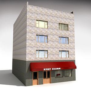 3d downtown building 9