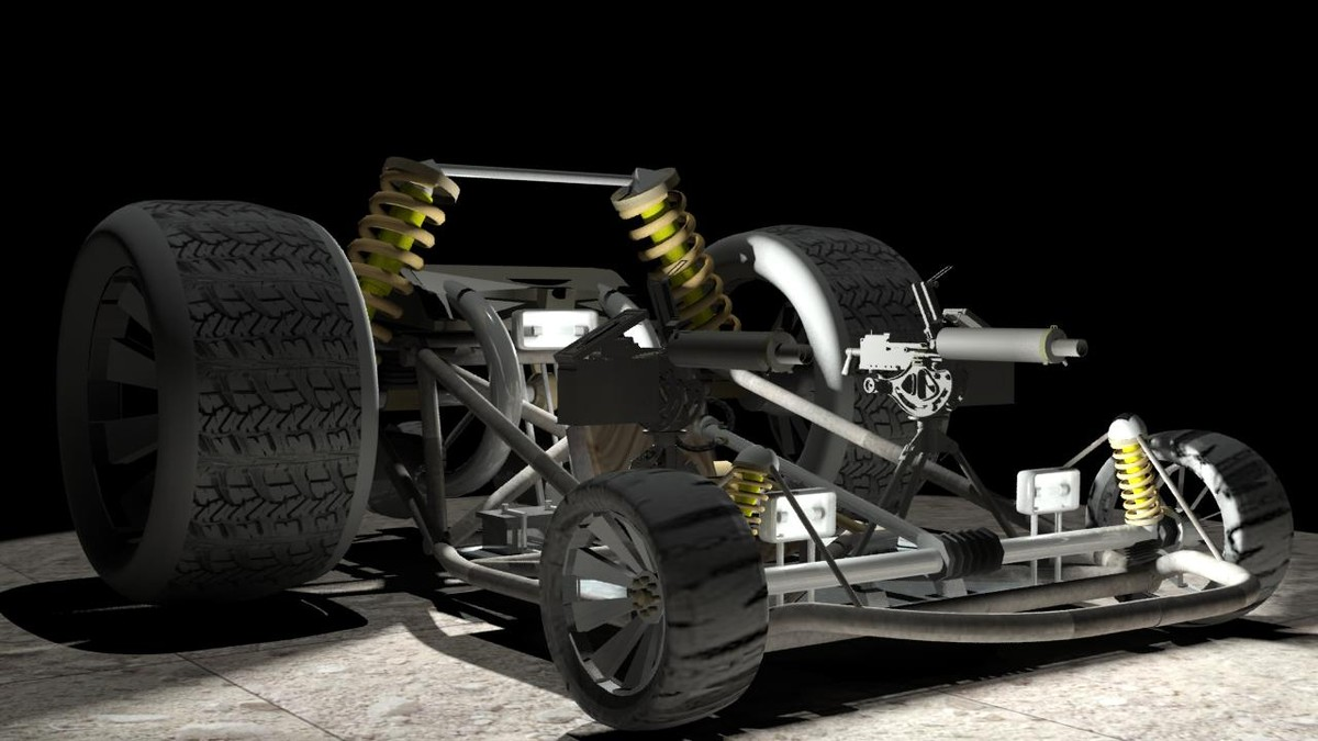 attack dune buggy max
