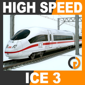 max speed train - ice