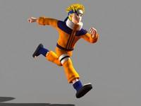Naruto Character Running
