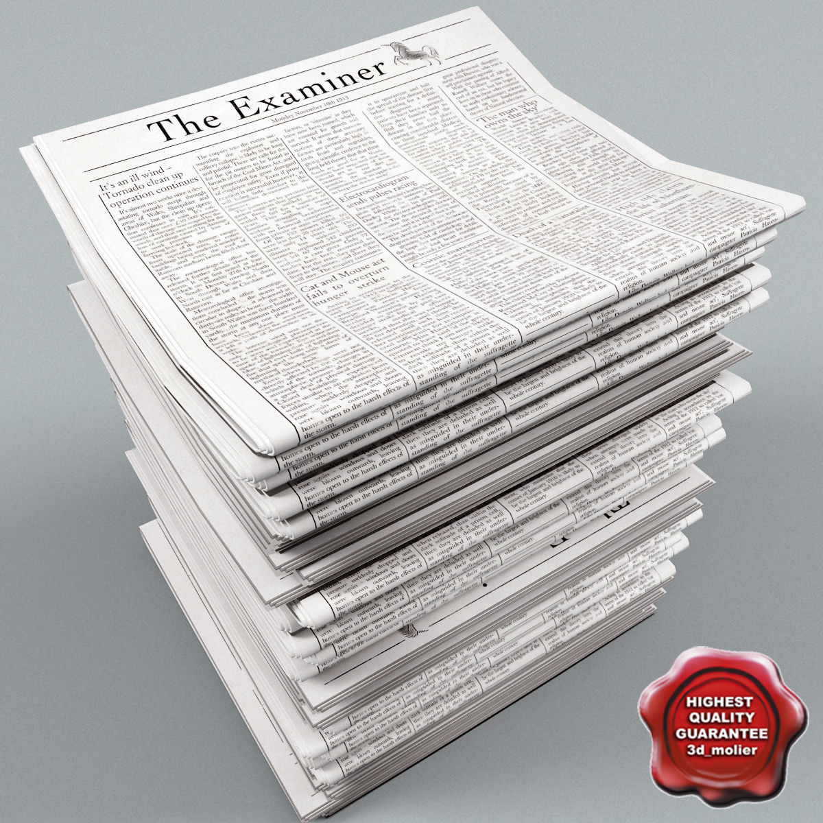 3ds max newspapers v5