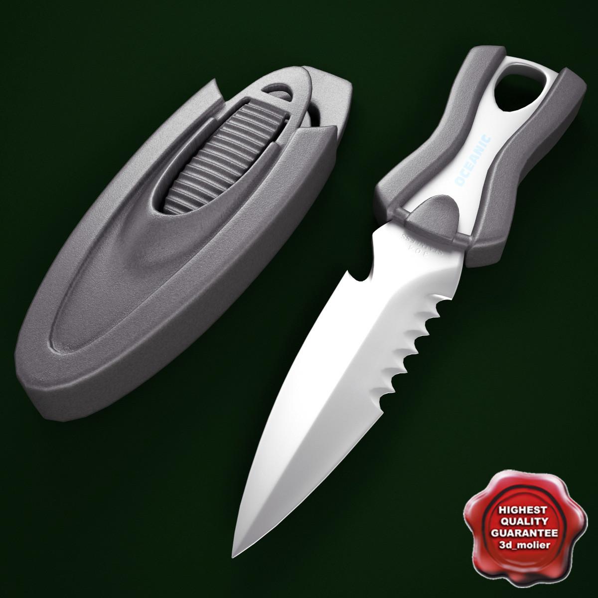 3ds max oceanic spinner knife