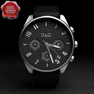 3d watch d g