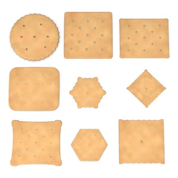 3d crackers model