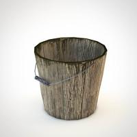 bucket 3d obj