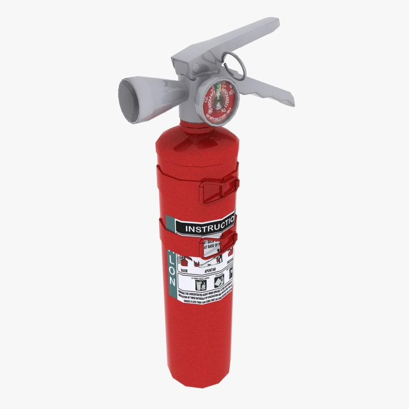 amarex halon extinguisher dxf