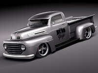 Ford F1 pickup hotrod 1950
