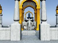 vue temple hindu shiva