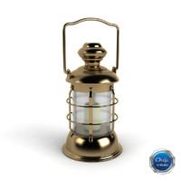 lantern lamp light 3d max