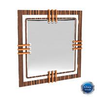 3d model mirror frame
