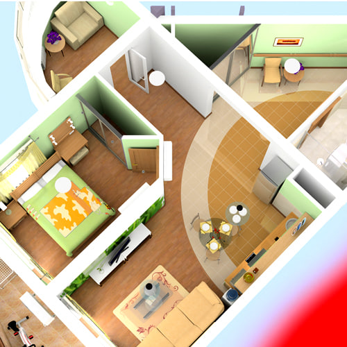 apartment 3ds