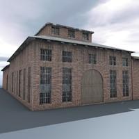 old building 3d model