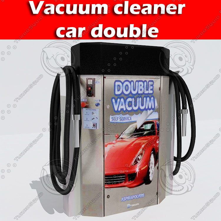 vacuum cleaner 3d 3ds