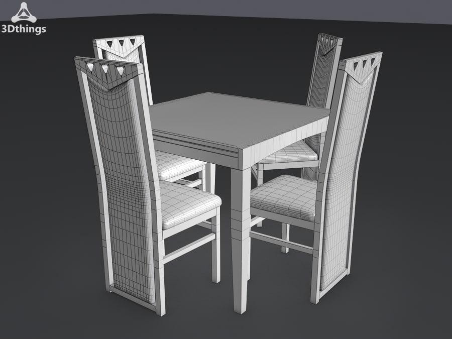 3d max kitchen furniture