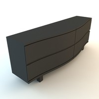 3ds max chest drawer