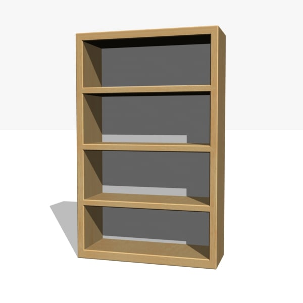 office bookcase obj