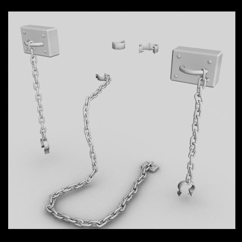 3d shackles
