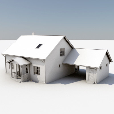 3dsmax story house