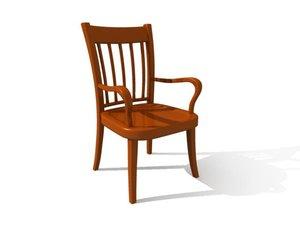 obj chair kitchen