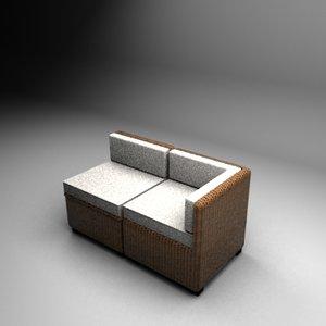 3d alice sofa