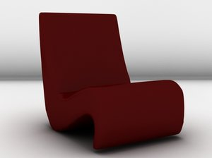 amoebe couch 3d model
