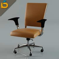 3d desktop chair model