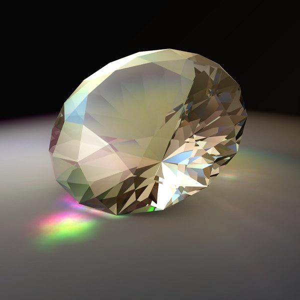 realistic diamond jewel 3d 3ds