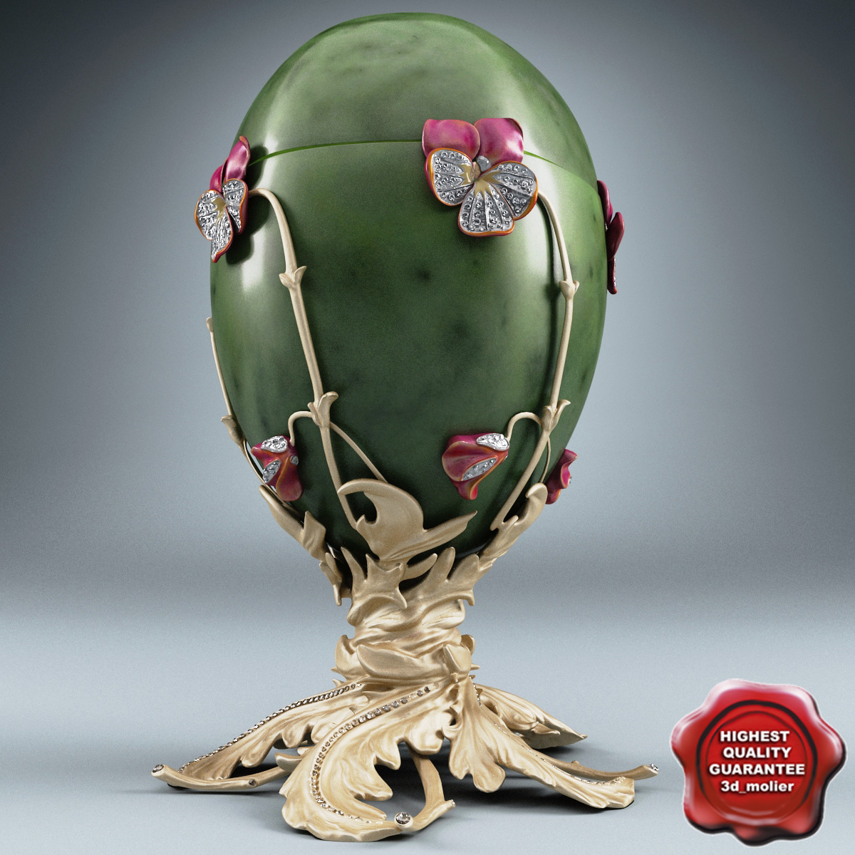 faberge egg 3d 3ds