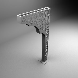 3ds max gate