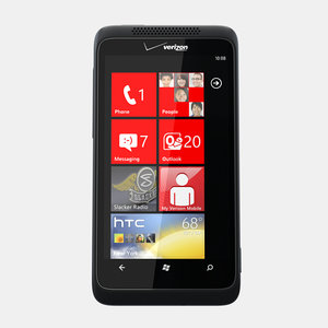 htc trophy mobile phone 3d max