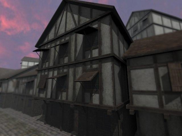 pack house 3d model