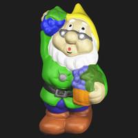 scan garden gnome obj