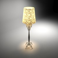 3d leg lamp
