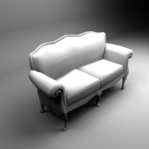 3d model lui white