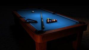 cinema4d pool table