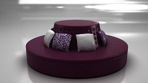 maya sofa pilows materials