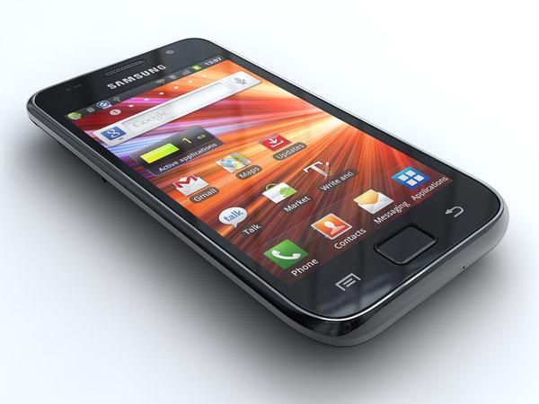 samsung i9001 galaxy s 3d model