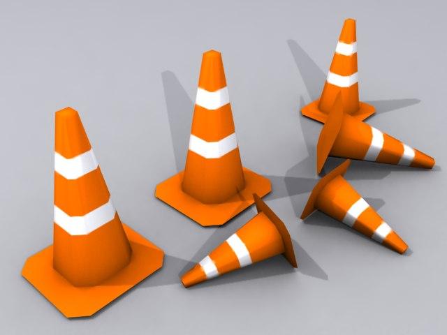 traffic cone - iphone 3ds
