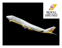3d brunei royal 747 model