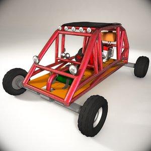 3d buggy car model