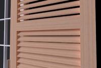 3d model of window finestra